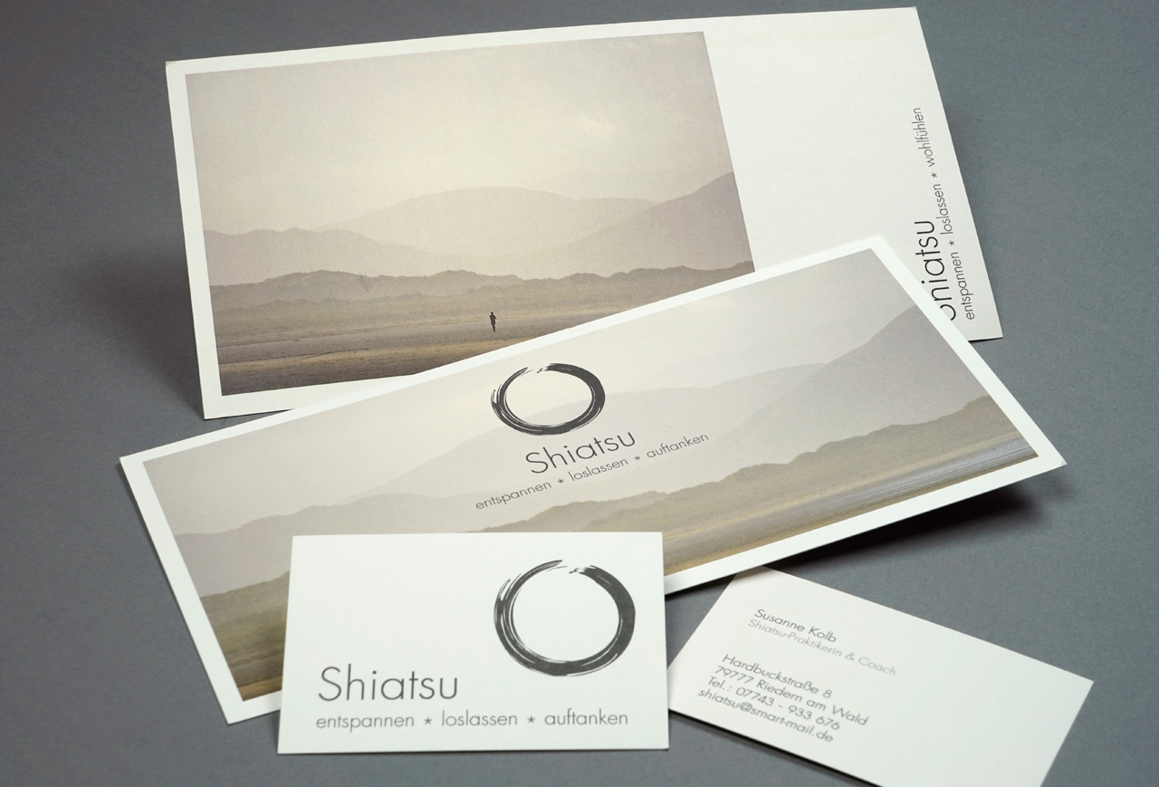 Corporate Design Shiatsu-Therapie